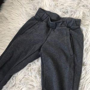 Lululemon size 2 dark grey charcoal sweatpants